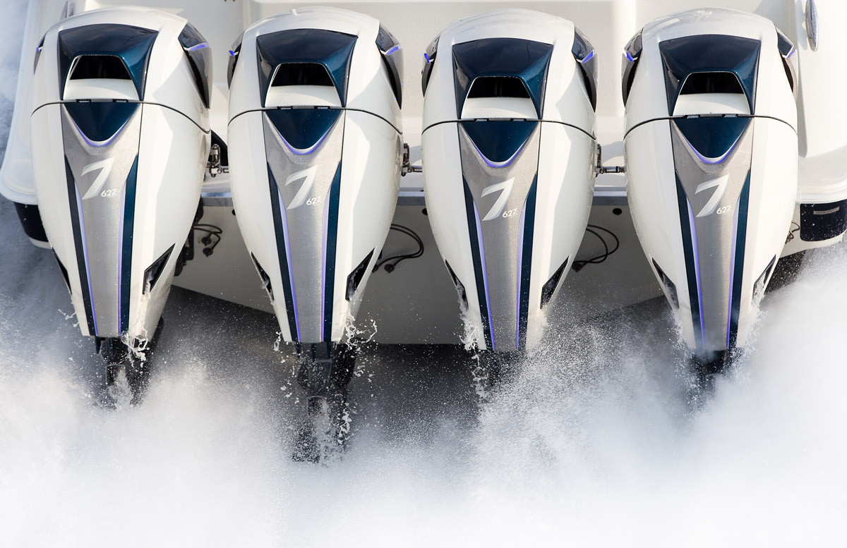 Outboard engines on big boats seven marine seven marine for Best outboard motor warranty