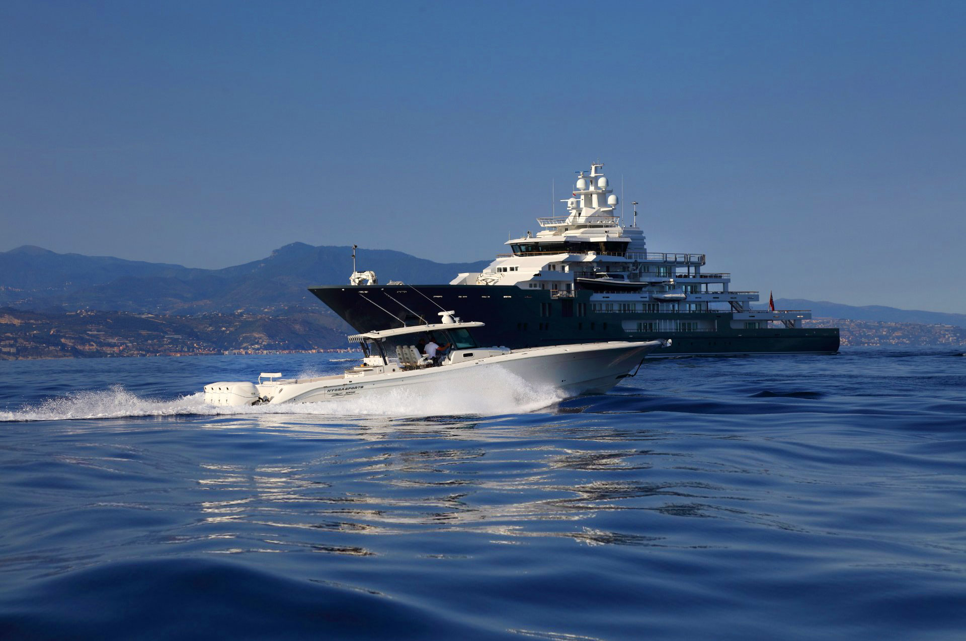 The Power to move those. Who move the world. outboard portfolio