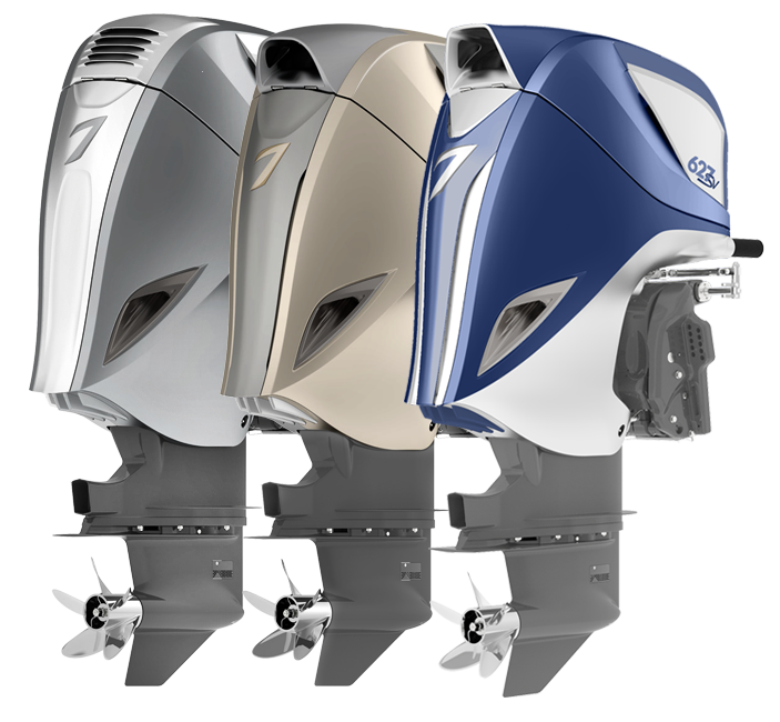 Choose from a wide selection of colors and create an outboard unique to you.
