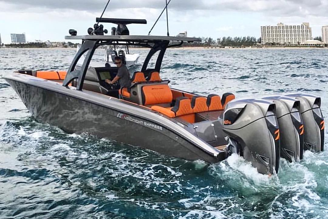 midnight express power boats - seven marine